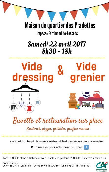 Collectif Des Pradettes Vide Dressing Vide Grenier